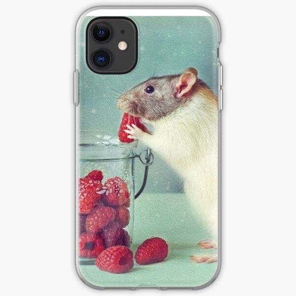 Snoozy always loves his food iPhone Soft Case