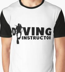 Diving Instructor Graphic T-Shirt