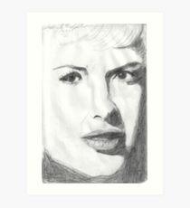 Looks like Marilyn Monroe Art Print