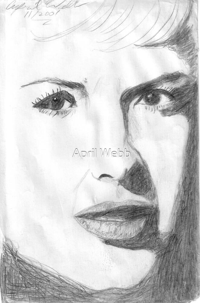 Looks like Marilyn Monroe by April Webb
