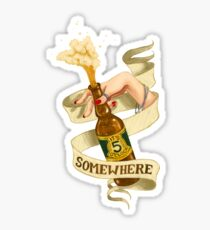 It's 5 o'clock Somewhere... Sticker