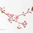 Cherry blossoms by Monika Howarth