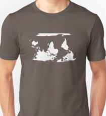 Upside down earth? Think different Unisex T-Shirt