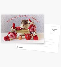 Christmas Party Postcards