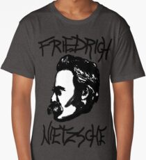 Friedrich Nietzsche ink Long T-Shirt