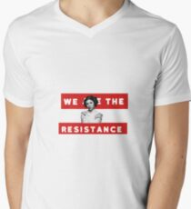 We Are The Resistance Men's V-Neck T-Shirt