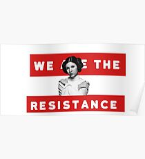 We Are The Resistance Poster