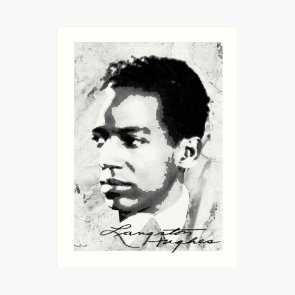 Langston Hughes Art Print