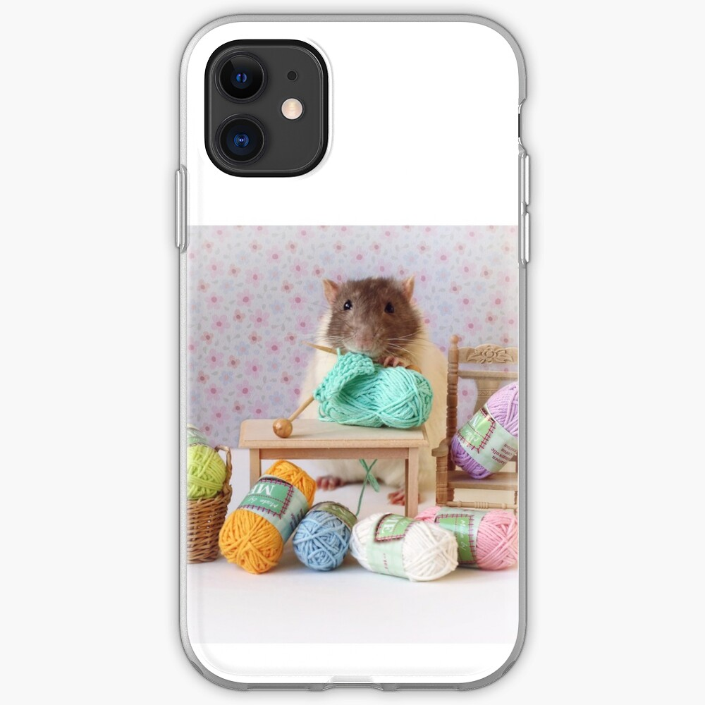 Knitted iPhone 11 case
