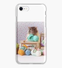 Snoozy wanted to knit ! iPhone Case/Skin