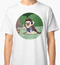 Pug White Classic T-Shirt