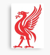 liverpool red best logo Canvas Print