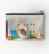 Working at the Laboratory Zipper Pouch