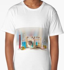 Working at the Laboratory Long T-Shirt