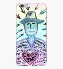 Crazy heart iPhone Case