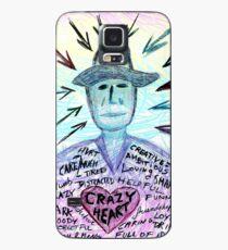 Crazy heart Case/Skin for Samsung Galaxy