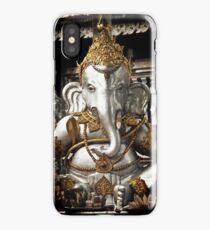 Silver Ganesh, Chiang Mai, Thailand. iPhone Case