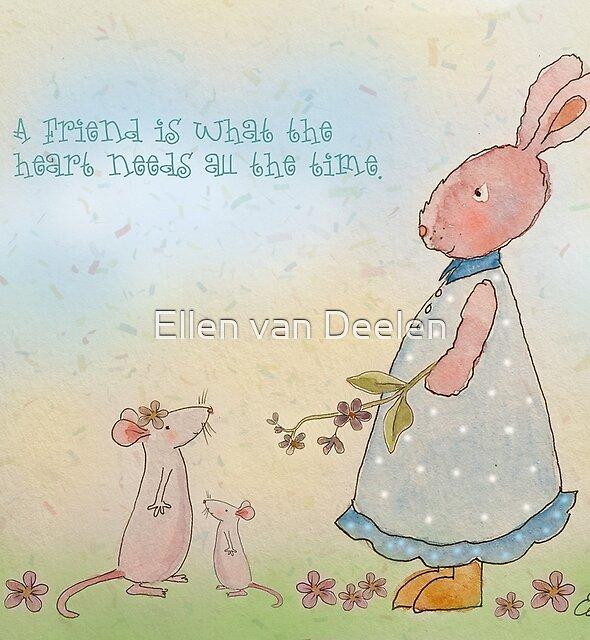 Friendship by Ellen van Deelen
