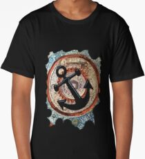 ANCHORS AWAY - BOAT ANCHOR Long T-Shirt