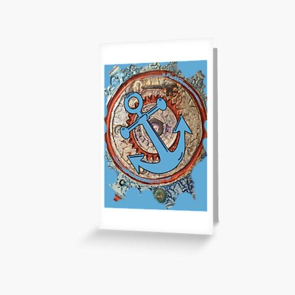 ANCHORS AWAY - BOAT ANCHOR Greeting Card