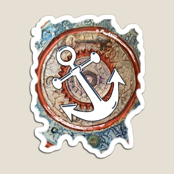 ANCHORS AWAY - BOAT ANCHOR Magnet