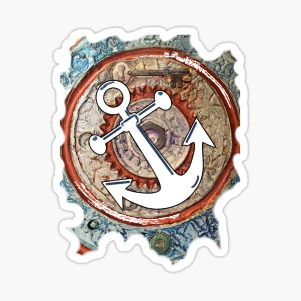 ANCHORS AWAY - BOAT ANCHOR Sticker