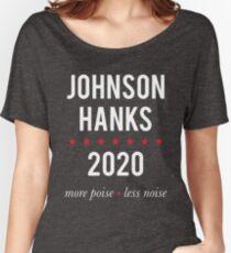 Johnson Hanks 2020 - More Poise Less Noise Women's Relaxed Fit T-Shirt