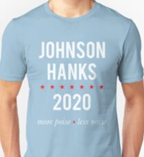 Johnson Hanks 2020 - More Poise Less Noise T-Shirt