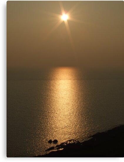 Sunset over North Devon by Mark Langworthy