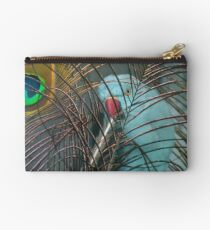 You're In My Face Mr...! - Blue Ringneck Parrot - NZ Studio Pouch
