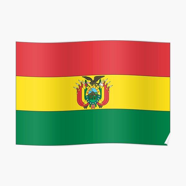 Bolivia Flag Poster