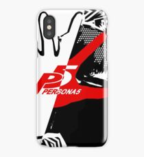 Persona 5 Protagonist Dont Look at Me iPhone Case
