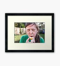 Sour Framed Print