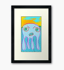 Squid No. 28 - Heat Wave Framed Print