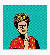 Frida in Red Photographic Print