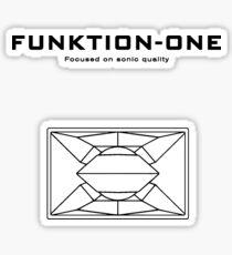 Funktion One 3 Sticker