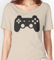 Video Game Inspired Console Playstation Dualshock Gamepad Women's Relaxed Fit T-Shirt