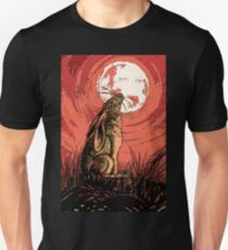 Moon Gazer Hare, Artwork T-Shirt