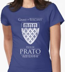 Game of Tuscany - Prato Womens Fitted T-Shirt