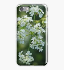 Wild White, Floral Design iPhone Case/Skin