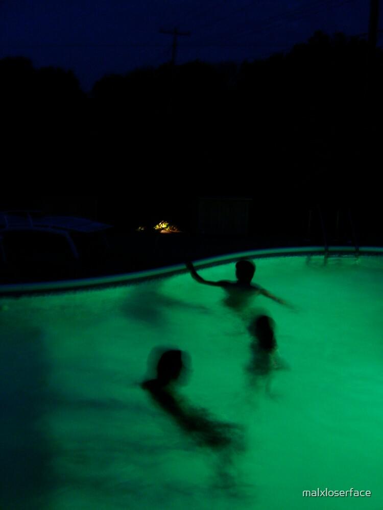 Summer Night Swim by malxloserface