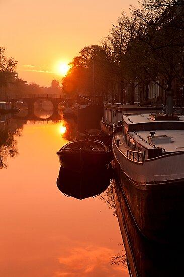Quiet Canal by Ben Stevens