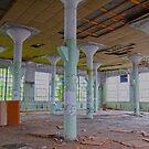Pillars and Chair by Steven Godfrey