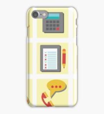 set of flat icons for web design iPhone Case/Skin