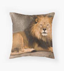 Benevolent Ruler Throw Pillow