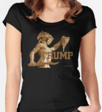 Perseus Slays Medusa (Trump-Hillary) Women's Fitted Scoop T-Shirt