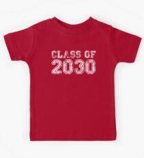 Vintage Class of 2030 Kids Tee