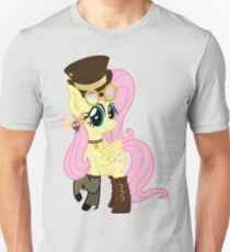 Steampunk Fluttershy (no shadow/background) Unisex T-Shirt