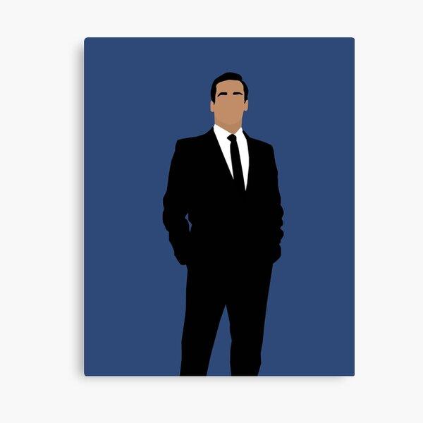 Don Draper Mad men Canvas Print