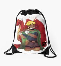 Dragon Charmer Drawstring Bag